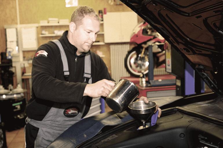 Leistungen Inspektion Ölwechsel