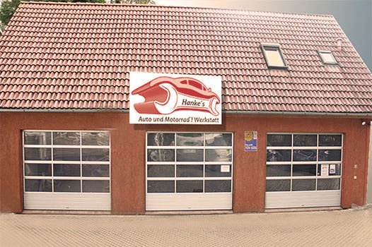 Hankes Werkstatt Betriebsurlaub